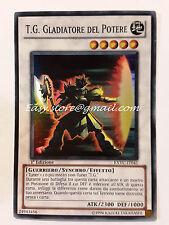 T.G. GLADIATORE DEL POTERE - EXVC-IT041  YU-GI-OH - YUGI - YGO