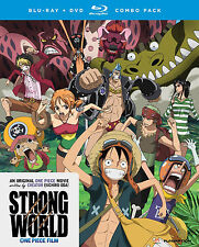 One Piece Movie 10: Strong World (2-Disc) Anime DVD+Blu-ray R1 Funimation