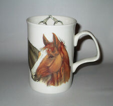 Roy Kirkham Horse Head Mug 2006 Lancaster Bit Horseshoe England Bone China
