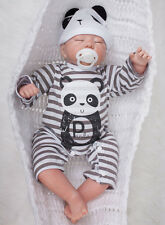"20"" Handmade Lifelike Reborn Baby Doll Full Silicone Soft Newborn Boy Gift Toy"