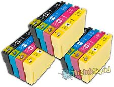 12 T1291-4/T1295 non-oem Apple  Ink Cartridges fits Epson Stylus Office BX305F