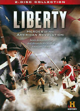 Liberty: Heroes of the American Revolution (DVD, 2014 2-Disc Set) FACTORY SEALED