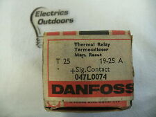 DANFOSS 19 - 25 AMP THERMAL OVERLOAD RELAY T25 047L0074