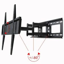 "Swivel Tilt TV Wall Mount Bracket 37 39 40 42 46 48 50 55 60"" LED LCD Plasma MEN"
