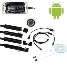 1m 6 LED Android endoscope caméra d'inspection étanche caméra Micro USB Video ED