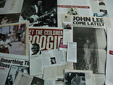 JOHN LEE HOOKER - CUTTINGS COLLECTION (REF X15)