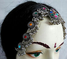 Kuchi Tribal Belly Dance Head Piece Ethnic Banjara Damni Jewelry Gypsy Boho New