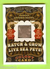 2012 TOPPS ALLEN GINTERS COLONY IN A CARD ARTEMIA SALINA