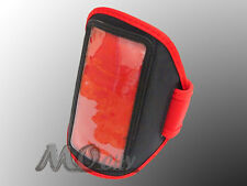 Gym Running Sport Armband Case Cover for BlackBerry Z10/Q10/Bold/Torch/Curve RED