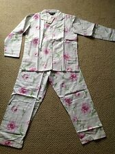 NWT!!  Women's Pink Floral Size Medium Flannel Pajamas