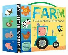 My Little World: Farm Puzzle and Sticker Book (2015, Mixed Media)
