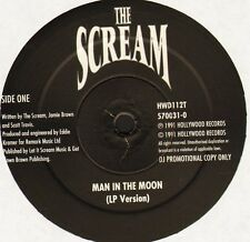 "THE SCREAM man in the moon HWD112T promo uk hollywood records 1991 12"" WS EX/"
