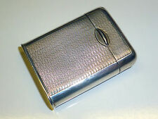 VINTAGE LIGHTER - ENGLISH 925 STERLING SILVER - BIRMINGHAM - ENGLAND - VERY RARE