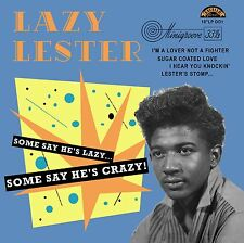 10 inch 25 CM LAZY LESTER His Best EXCELLO sides ! rockin' Blues New Vinyl 33 LP