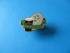 1995 Irish Rugby Team Guinness Pin Badge. VGC. Unused. Enamel. Rugby Ball.