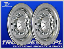 "TRUCK WHEEL TRIMS STAINLESS STEEL 22.5"" SCANIA,VOLVO,DAF,MAN,IVECO,MERCEDES !!!!"