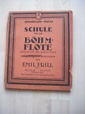 Voti scuola per i Böhm flauto di E. Prill parte i N. 25
