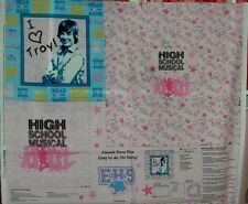 High School Music Children's Quilt Fabric I Love Tony Pillow Panel No-Sew BTY