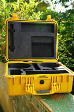 Original Trimble Pelican Yellow Case For R8 GNSS R6 5800 II Survey Rover Station
