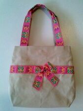 Tote FLIP FLOP Canvas Bag Summer Purse