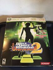 Dance Dance Revolution Universe 2 DDR Xbox 360 Complete with Box and Dance Mat
