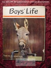 BOYS LIFE March 1965 STUART CLOETE PHILIPPE HALSMAN +++