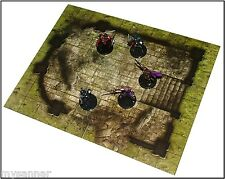 Dungeons & Dragons RUINED TEMPLE Gamemastery D&D Pathfinder Map Tiles - Shrines