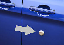 CHROME DOOR / HANDLE KEY LOCK TRIM COVER SET S.STEEL 1 - FORD TRANSIT CUSTOM 12+
