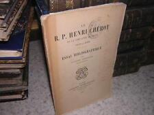 1907.Henri Chérot.essai bibliographique / Eugène Griselle