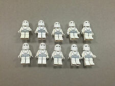 LEGO Snow Trooper Lot of 10 Star Wars Minifigure minifig Huge LOT Clone K244