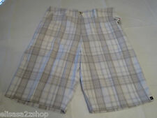 Quiksilver Skinney Bone Men's shorts walking casual 31 NEW WBB1 AQYWS00050 plaid