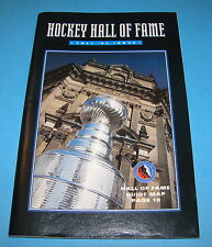 1994 HOCKEY HALL OF FAME GUIDE / AUTOGRAPHED BY ALLAN STANLEY