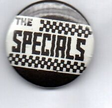THE SPECIALS - SKA - BUTTON BADGE - ENGLISH 2-TONE SKA REVIVAL BAND -