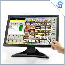 "Monitor LCD Touch Screen 19"" Risoluzione 1440x900 VGA AV HDMI TV Per PC/POS"