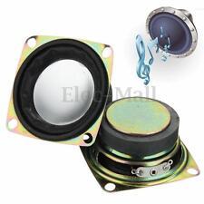 """2pcs 52mm 2"""" inch 4Ohm 4Ω 3W Full Range Audio Speaker Stereo Woofer Loudspeaker"""