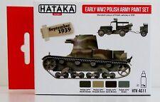 Hataka HTK-AS11 Segunda Guerra Mundial conjunto de pintura de color de 4 Ejército Polaco