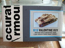 Model Resin Kit Accurate Armour K15 Valentine III/V British WW-II on 1:35 in Box