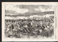 1854 THE ACTION AT BALACLAVA CHARGE OF THE SCOTS GREYS CRIMEAN WAR