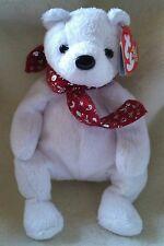 TY Beanie Babies 2000 Holiday Teddy Christmas Bear Retired Stuffed Plush Toy NEW