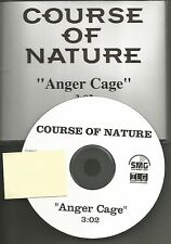 Dust for Life COURSE OF NATURE Anger Cage RARE TST PRESS PROMO DJ CD single 2008