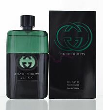 Gucci Guilty Black by Gucci for Men 3.0 oz Eau de Toilette Spray NIB Sealed