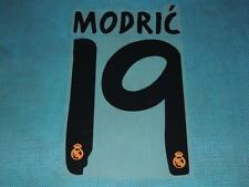 Spanish La Liga  2013-2014 Real Madrid #19 Modric Homekit NameSet Printing