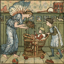 Crane, Walter. The Baby's Bouquet. A fresh bunch of old rhymes & tunes. EA 1878