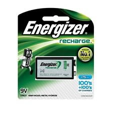 Energizer 9V Rechargeable Recharge Battery Block Cell 175mAh NiMH 6F22 PP3 R22
