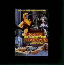 Argoman - Der phantastische Supermann ORIGINAL Kino-Dia / Film-Dia / Diacolor