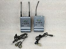 Sony UHF URX-P1 & Sony UTX-B1 Wireless Microphone with Sony Lavalier Mic