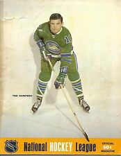 1968-69 Oakland Seals-North Stars Program Seals Rout Stars in Finale!!