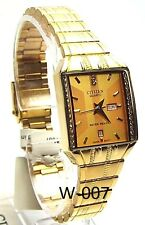 New Citizen Ladies Gold-tone 16 Genuine - Crystals Dress Watch