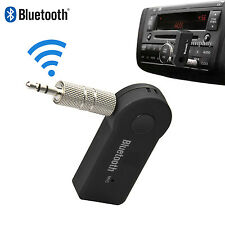 3.5mm AUX Car Bluetooth Receiver Speaker Music Streaming Audio Adapter Mic