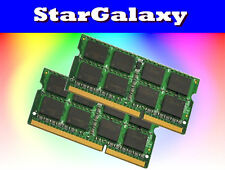 16GB 2x 8GB DDR3 1066 MHz PC3-8500 PC3-1066 Sodimm Laptop Notebook RAM Memory